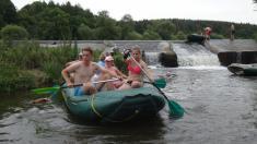 Vodácké putování Berounka