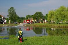 Čištění rybníka