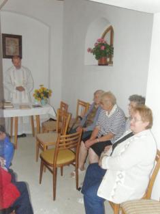 Vysvěcení kapličky sv. Martina