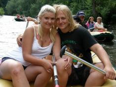 Rafty Vltava