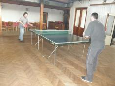 Vánoční turnaj ve stolním tenisu Václavy