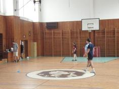 První trénink - 12 . 11.