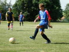 Fotbalový turnaj ve Hvozdě