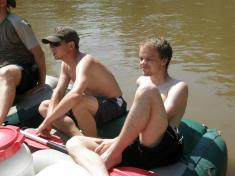 Raftování po Otavě