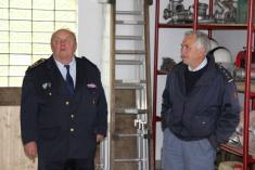 Slavnostní otevření zrekonstruované hasičárny
