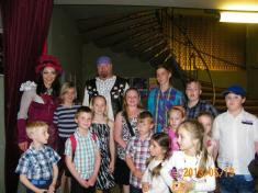 Divadlo Hybernia s dětmi